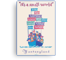 It's a Small World Poster Metal Print
