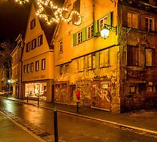 Tübingen at Christmas 5 by Mark Bangert