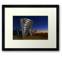Water Dance Sculptures  Framed Print