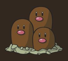 Dugtrio by Stephen Dwyer