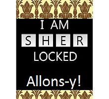 Sherlock/Doctor Who; Sherlocked Alons-y  by Rosalicious19