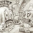 Monster Cheese by Jose Gomez