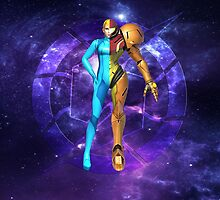 Split Samus Alternate by Dante Walton