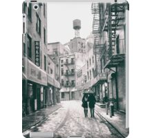 Doyers Street - Snow - New York City iPad Case/Skin