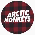 Arctic Monkeys Plaid Logo by vompires