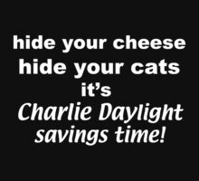 Cheese, Cats, & Charlie by Sarah Myer