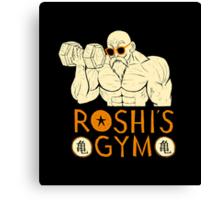 roshi's gym Canvas Print