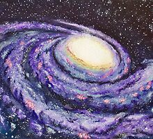 Milky Way Galaxy  by nategradyart