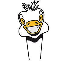 Funny EMU ostrich goofy funny cool by Motiv-Lady