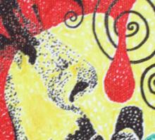 Dripping Bob Marley Sticker