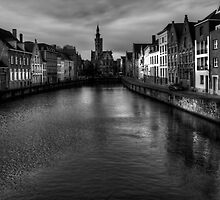 Bruge by English Landscape Prints