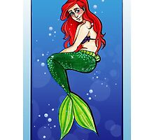 ARIEL PHONE CASE by minteabunny