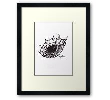 Dragon Eye - Right Framed Print