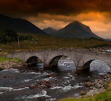 Sligachan Bridge by English Landscape Prints