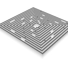 maze - labyrinth by siloto