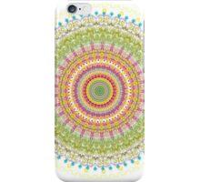 Bright Blessings Mandala  iPhone Case/Skin