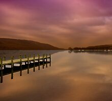 Coniston Water by English Landscape Prints
