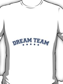 Text arch design friends couple couple dream team T-Shirt