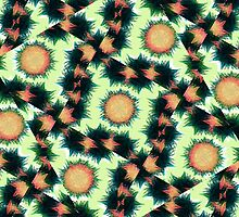 Irregular Geometric Pattern by DFLCreative