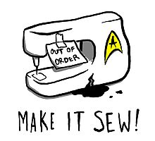 Make it Sew! Photographic Print