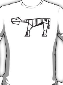 prehistoric creature skeleton  T-Shirt