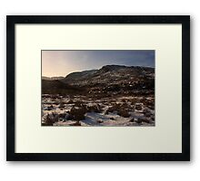 Northeast Face Of Croaghconnellagh Framed Print