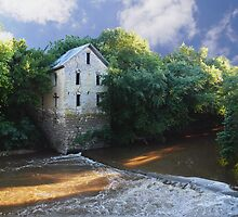 Antiquated Grist Mill by Brian Fowler