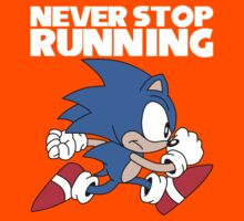 Never Stop Running by James Hall