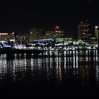 Long Beach at Night by Stephen Burke