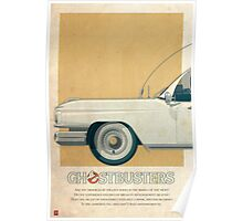 Ecto-1 triptych I of III Poster