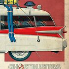Ecto-1 triptych III of III by Staermose
