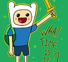 Adventure Time (Finn) by Colin Doyle