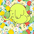 Tree Trunks - Twerk by littlegreenhat