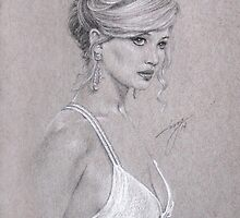 Jennifer Lawrence by artbyivs