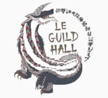 Monster Hunter Le Guild Hall-Stygian Zinogre Colored by S4LeagueProps