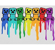Rainbow Creep Photographic Print