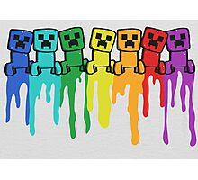 Rainbow Creep Photographic Print