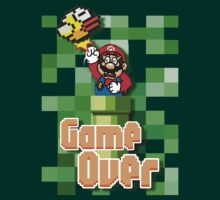 Flappy Mario Game Over punch by threesecond