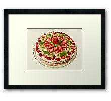 strawberry Tart Framed Print