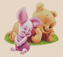 Baby Pooh and Piglet by crazyfangirl97