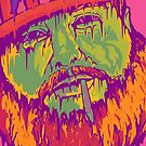 Action Bronson Illustration - Original Print - benmcArts by Ben McCarthy