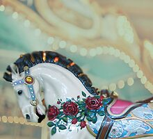 Dreamy Carousel Horse by thepinkpearl