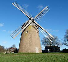 Bembridge Windmill, Isle of Wight by Gill66