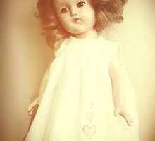 Vintage Collectable Rare Doll Old Photograph Style by ARTificiaLondon