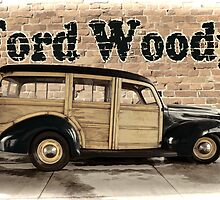 1940 Ford Woody by adastraimages