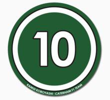 #10 - Kamui Koboyashi (Caterham F1 Team) by FormulaFans