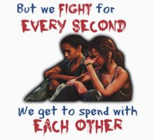 Ellie and Riley: we fight... by SociallyAwkward