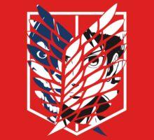 Eren Jaeger Scouting Legion (Attack On Titan) Kids Clothes