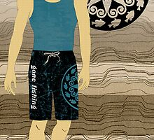 Boardshort 6 by Janet Carlson