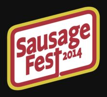 Sausage Fest 2014 by MomfiaTees
